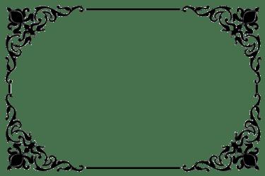Border Black And White clipart Leaf Circle Rectangle transparent clip art