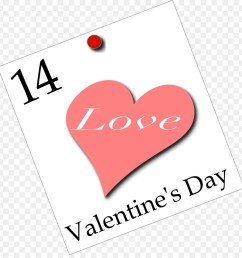 download february 14 valentine day clipart valentine s day february 14 clip art [ 900 x 940 Pixel ]