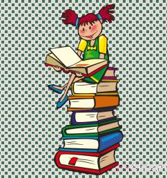 reading books clipart book reading clip art [ 900 x 900 Pixel ]