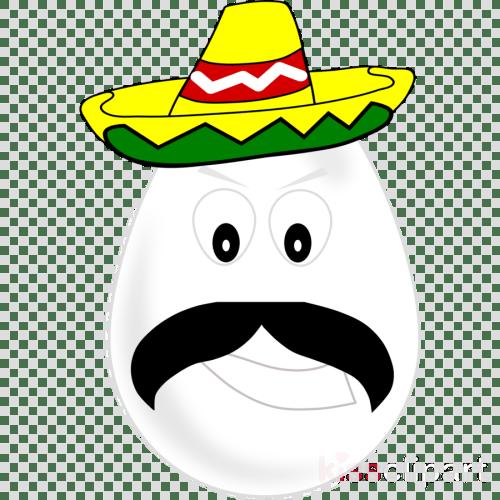 small resolution of egg with sombrero clipart mexican cuisine sombrero clip art
