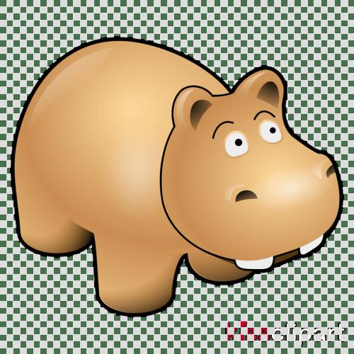 small resolution of cartoon hippo clipart hippopotamus clip art