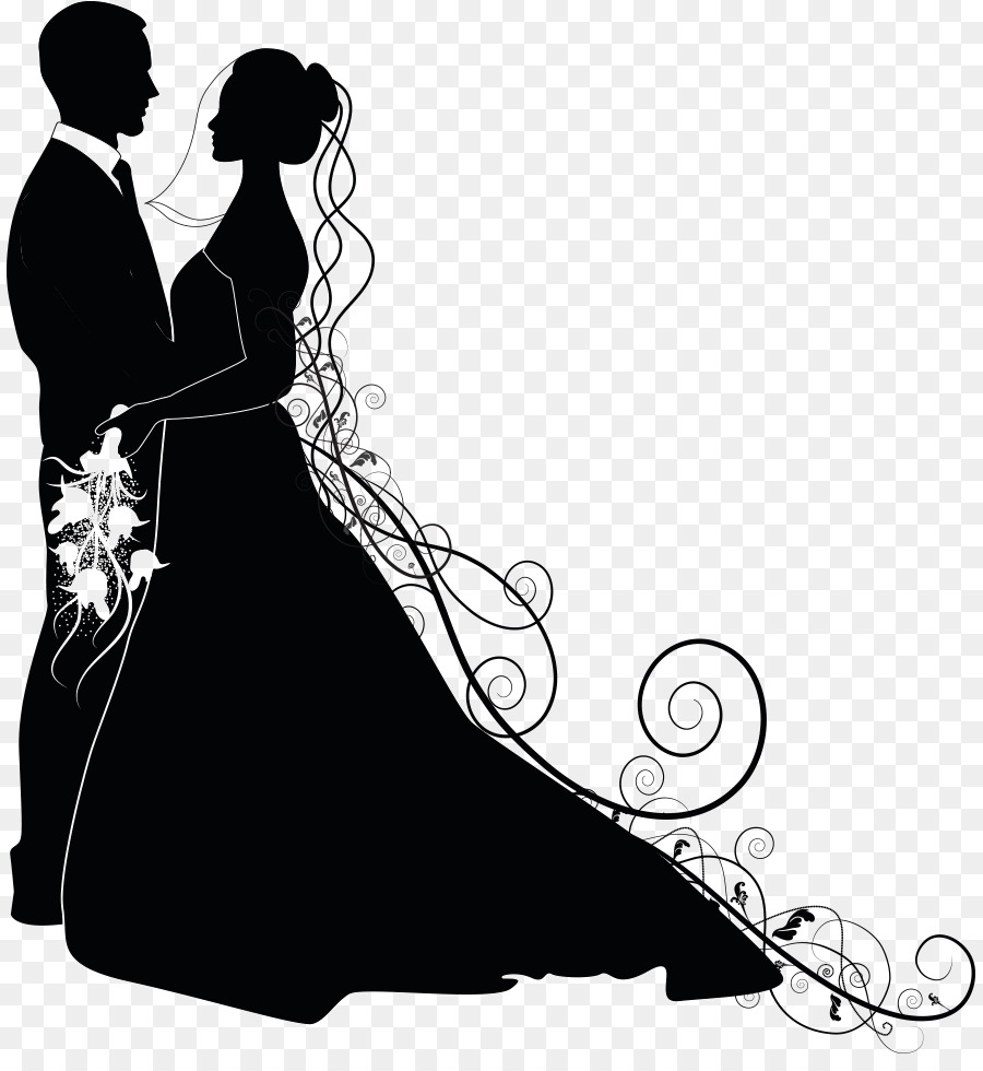 hight resolution of wedding couple png clipart wedding invitation clip art