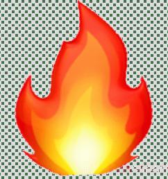emoji fire clipart emoji fire flame [ 900 x 900 Pixel ]