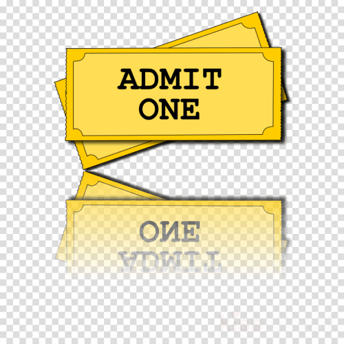 small resolution of transparent background movie ticket clipart event tickets clip art