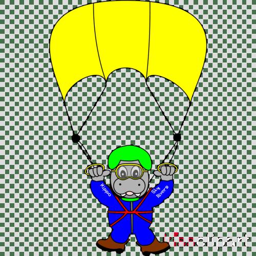 small resolution of cartoon sky diver clipart parachuting clip art