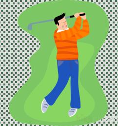 guy golfing cartoon clipart golf jokes clip art [ 900 x 900 Pixel ]