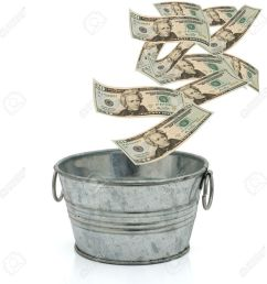 bucket of money clipart stock photography live richer challenge learn how to budget save [ 900 x 900 Pixel ]