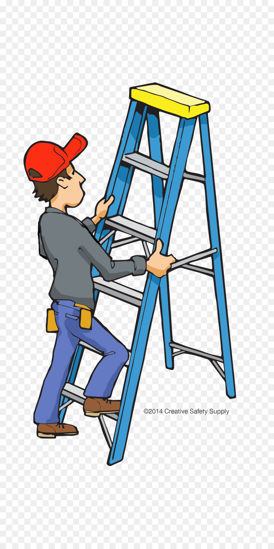 hight resolution of fall protection and ladder safety clipart falling safety clip art