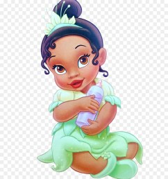 princess baby disney png clipart tiana the princess and the frog disney princess [ 900 x 1040 Pixel ]