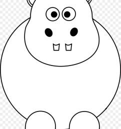 smile clipart pig hippopotamus clip art [ 900 x 1160 Pixel ]
