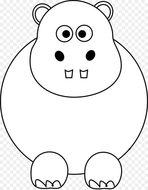 small resolution of smile clipart pig hippopotamus clip art