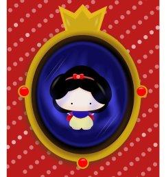 snow white mirror clipart snow white magic mirror [ 900 x 1061 Pixel ]