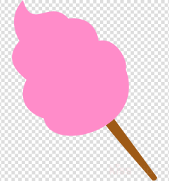 pink cotton candy clipart cotton candy cupcake clip art [ 900 x 900 Pixel ]