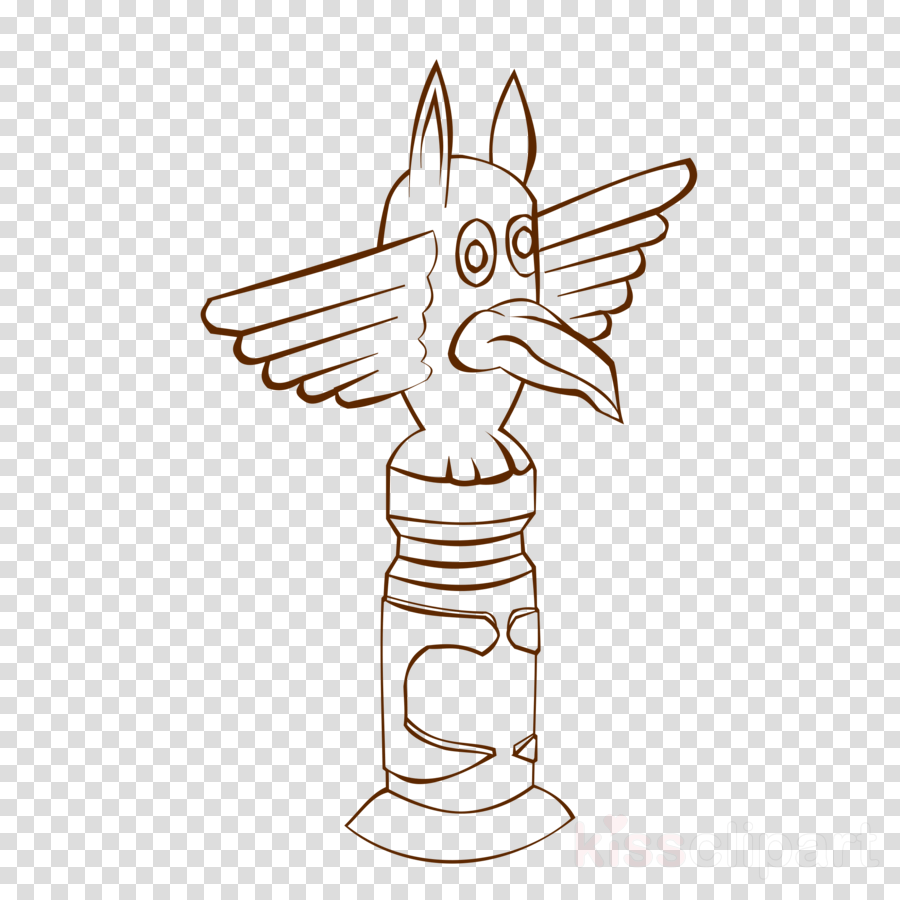 hight resolution of totem pole coloring pages clipart totem pole coloring book