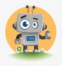cute robot vector clipart robot clip art [ 900 x 920 Pixel ]