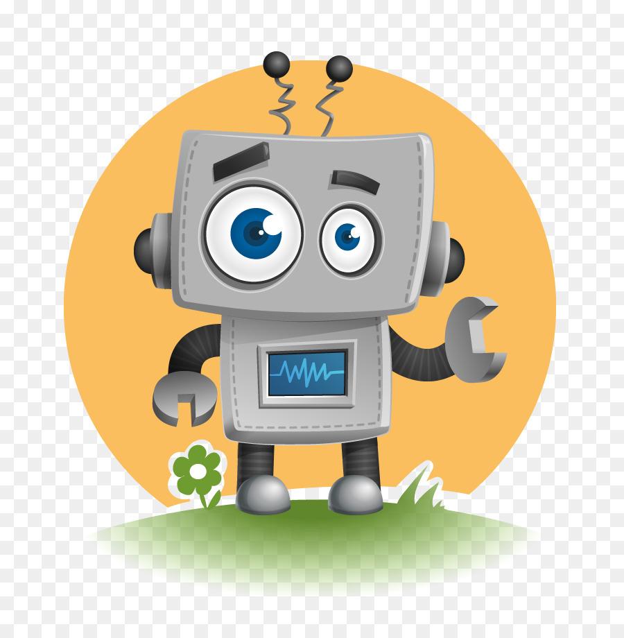 hight resolution of cute robot vector clipart robot clip art