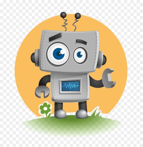 small resolution of cute robot vector clipart robot clip art