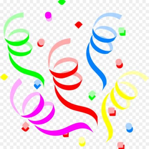 small resolution of clip art confetti clipart clip art