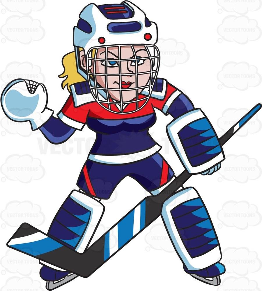 hight resolution of download female hockey player clipart ice hockey goaltender clip art hockey