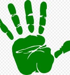 dark green handprint clipart hand clip art [ 900 x 900 Pixel ]