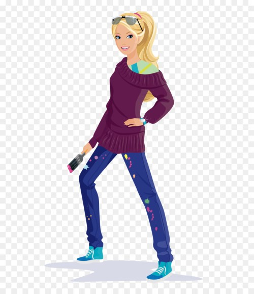 small resolution of barby princes drowing clipart barbie princess charm school my melody barbie doll