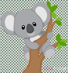 koala bear clip art clipart koala bear giant panda [ 900 x 900 Pixel ]