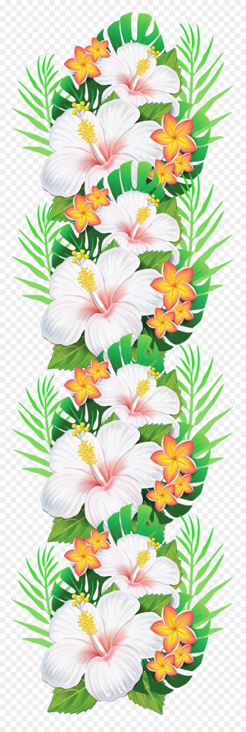 small resolution of tropical flower clipart