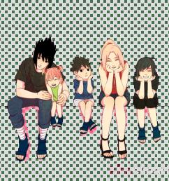 sasuke and sakura s family clipart sasuke uchiha sakura haruno sarada uchiha [ 900 x 900 Pixel ]