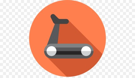 Fitness Icon clipart Exercise Orange Product transparent clip art