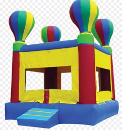hot air balloon bounce house clipart inflatable bouncers hot air balloon [ 900 x 1040 Pixel ]