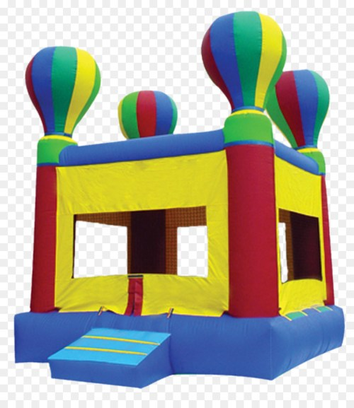 small resolution of hot air balloon bounce house clipart inflatable bouncers hot air balloon