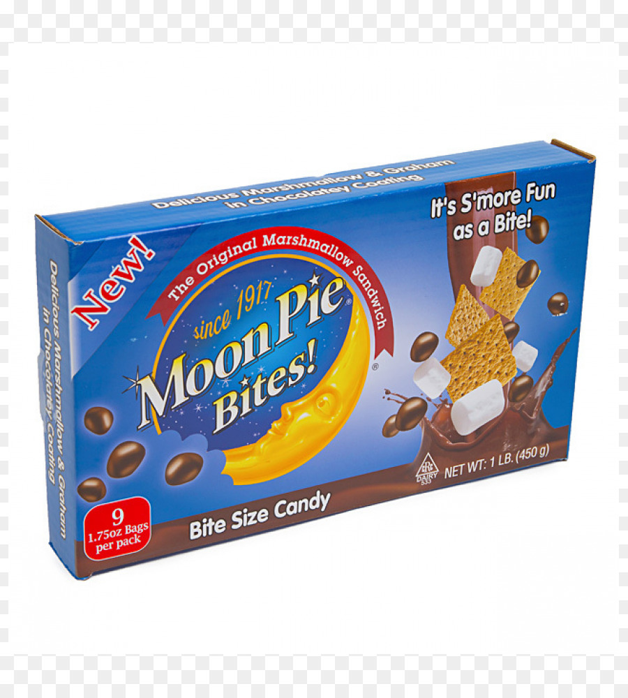 medium resolution of download ginormous moon pie bites 450g clipart ginormous moon pie bites s more smore product snack