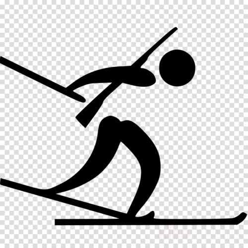 small resolution of biathlon pictogram clipart biathlon at the 2018 olympic winter games winter olympic games alpensia cross