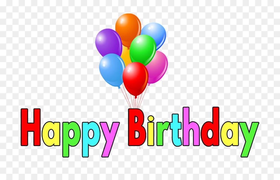 happy birthday text clipart