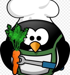 rectangle magnet little round penguin bbq grill king clipart barbecue chicken penguin [ 900 x 1240 Pixel ]