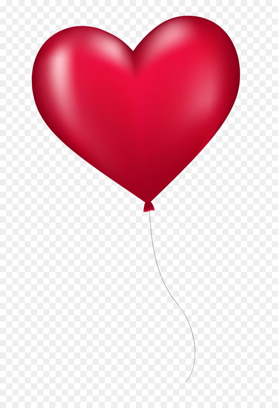 Balon Love Png : balon, Background, Heart, Clipart, Balloon,, Heart,, Transparent