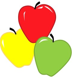 different color apples clipart apple dumpling clip art [ 900 x 905 Pixel ]