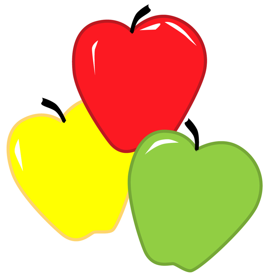 medium resolution of different color apples clipart apple dumpling clip art