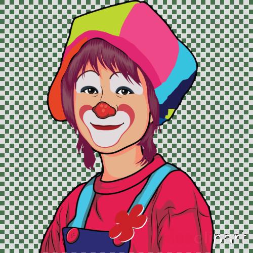 small resolution of cartoon female clown clipart joker clown clip art
