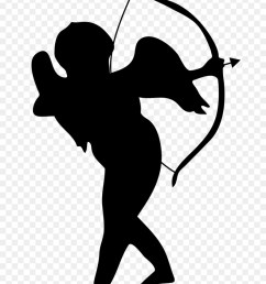 cupid silhouette png clipart cupid clip art [ 900 x 1220 Pixel ]