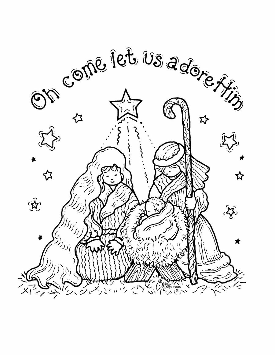 hight resolution of christmas nativity coloring pages free clipart colouring pages coloring book nativity scene jpg 900x1164 nativity coloring