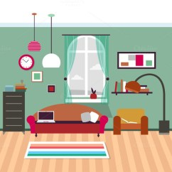 Living Room Pictures Clipart How To Design A Small Rectangular Resolution 580 Flat Free Download Interior Services It Comes With Full Background Of