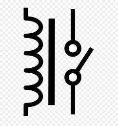 relays symbols clipart relay electronic symbol wiring diagram [ 900 x 1040 Pixel ]