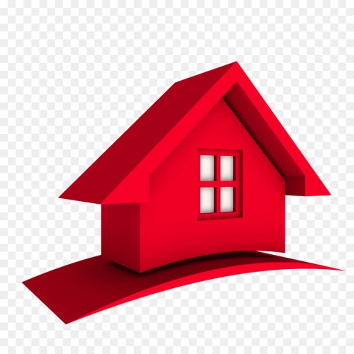 small resolution of 3d home logo clipart house logo