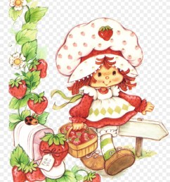 strawberry shortcake vintage clipart strawberry shortcake american muffins [ 900 x 1100 Pixel ]