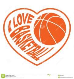 baloncesto corazon clipart basketball clip art [ 900 x 962 Pixel ]