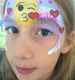 emoji face paint ideas clipart painting emoji [ 900 x 1200 Pixel ]
