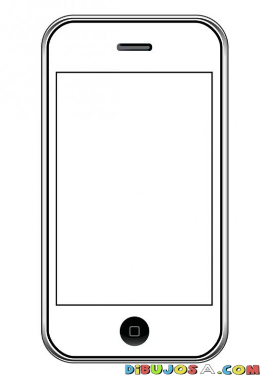 phone coloring pages # 3