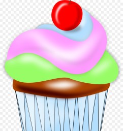transparent png cupcake clipart cupcake american muffins frosting icing [ 900 x 1200 Pixel ]