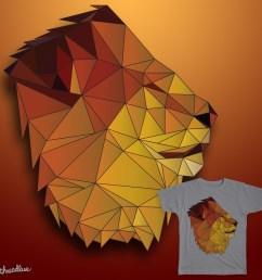 lion clipart lionhead rabbit geometry [ 900 x 900 Pixel ]